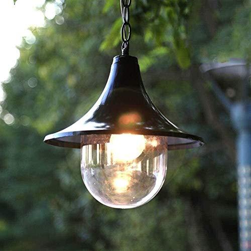 Chef Turk Araña, araña Exterior Paisaje jardín Exterior Accesorio de iluminación de Techo Adecuado para terraza balcón Porche Chandelier acrílico lampana