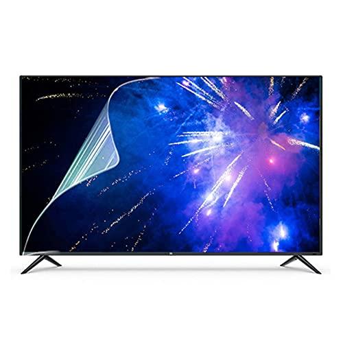 AJDGL Película Protectora de Pantalla Anti luz Azul para TV: Alivia la Fatiga Ocular y Duerme Mejor para LCD, LED, OLED y QLED 4K HDTV