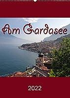 Am Gardasee (Wandkalender 2022 DIN A2 hoch): Impressionen vom Gardasee (Monatskalender, 14 Seiten )