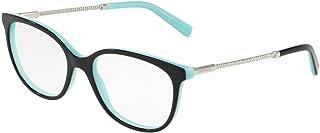 Tiffany & Co TF2168-8055 Eyeglass Frame BLACK/BLUE w/Clear Demo Lens 52mm