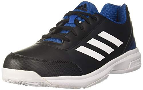 Adidas Men's Sonic Core Black/FTWR White/Dark Royal Tennis Shoes-10 UK (45 EU) (10.5 US) (CM6040)