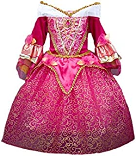 DreamHigh Sleeping Beauty Princess Girls Costume Dress Size 4-5 Years Pink