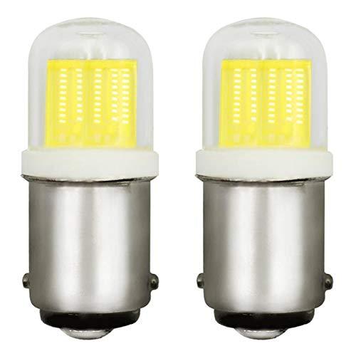 Bombilla LED B15D de 2 W, equivalente a 20 W, regulable, CA 220-240 V, 6000 K, luz blanca fría, B15, bombilla LED para máquina de coser, 2 unidades [Multi]