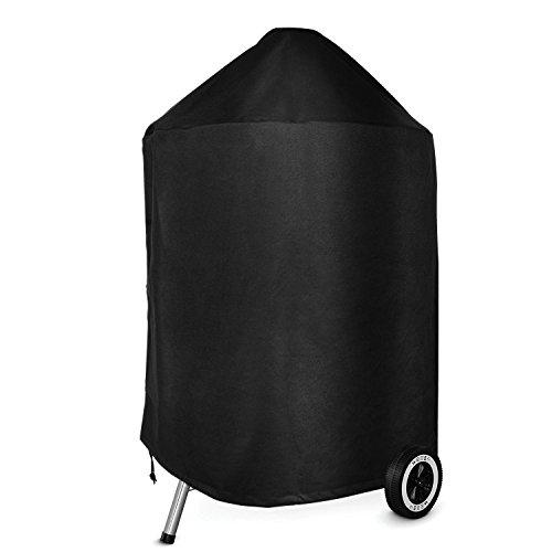 Onlyfire Kamado carbón Parrilla Cubierta Funda para Barbacoa (Parrilla para carbón de leña de 22 Pulgadas 56cm) Resistente al Agua, Resistente a UV, Respirable
