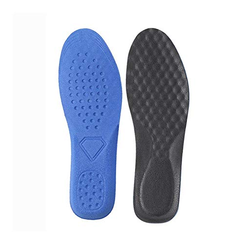 Plantillas Para Zapatos Desodorante Suela 1 par de zapatos ortopédicos Plantillas, Encuadre de cuerpo entero con la ayuda de arco Pies inserciones absorción de choque y Pies Amortiguación planas, fasc
