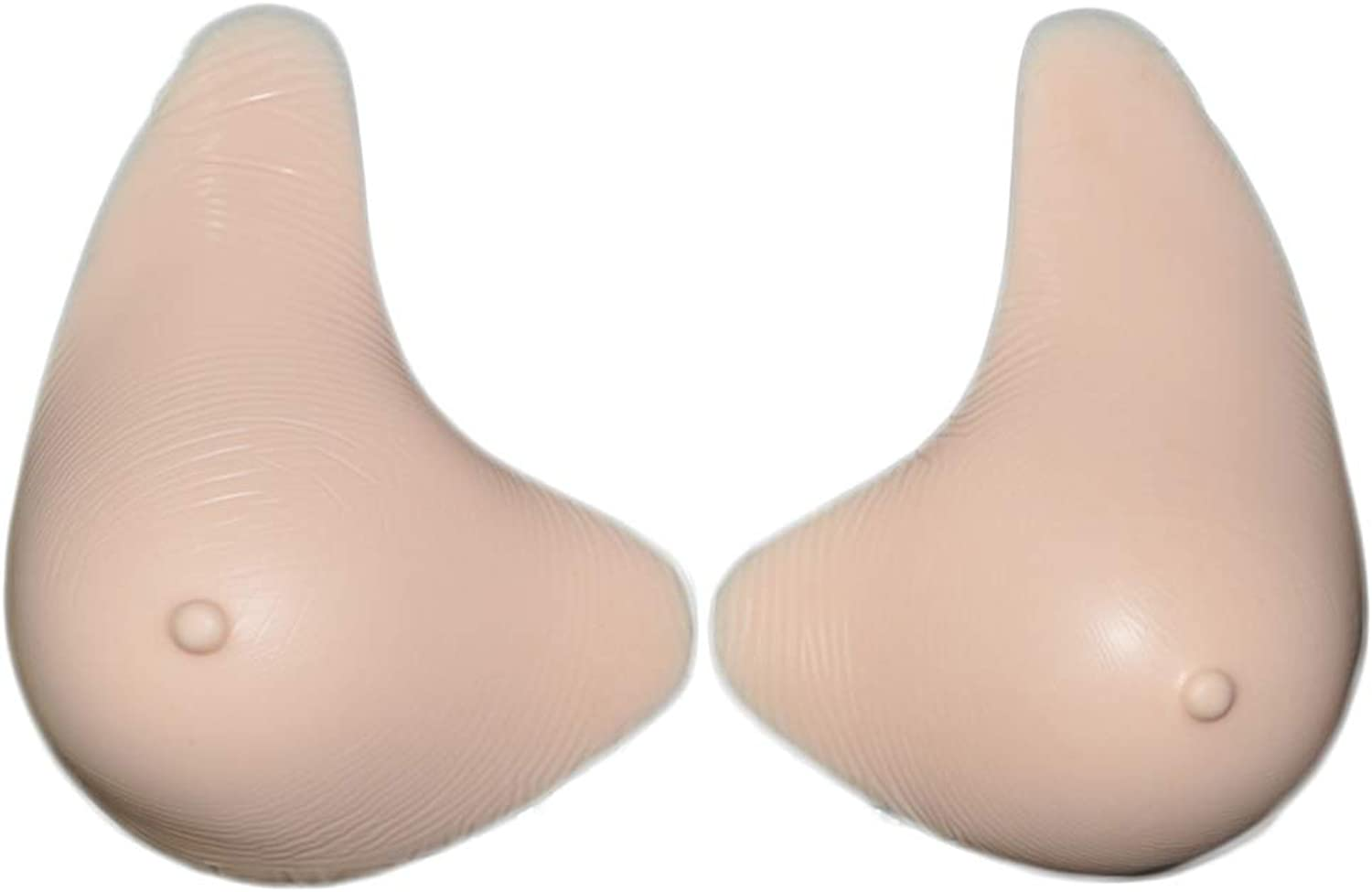 Prosthesis Silicone Breast Forms Soft Realistic Longer Tail Shaping Enhancer False Nipple,S