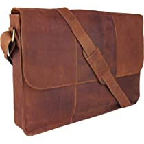444CCC Sandle UNICORN (ユニコーン) レアルレザー17インチのラップトップバッグ iPad、電子ブックまたは錠剤はホルダーブラウン タンReal Leather Laptop, ipad, Kindle, Ebook or Tablet Holder Bag Brown #6G