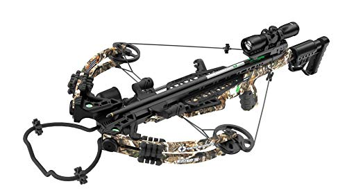 CenterPoint Mercenary 390 Compound Crossbow Package with 4x32 Scope and Rail Lube