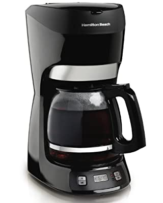 Hamilton Beach 12-Cup Coffee Maker with Digital Clock from Hamilton Beach