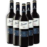 Vino tinto Beronia Reserva de 75 cl - D.O. La Rioja - Bodegas Gonzalez Byass (Pack de 5 botellas)