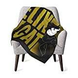Soft&Warm Baby Felix The Cat Blankets Lightweight Flannel Throw Plush Throw Blanket for Boys and Girls 30''×40''