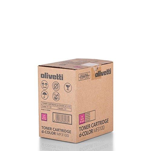 Olivetti B1135 approprié pour DCOLOR MF3100 Toner Magenta 5000 côtés