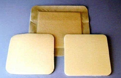 ZeniFoam Gentle Silicone-Faced Foam Wound Dressings, Box of 10, 6' x 6'