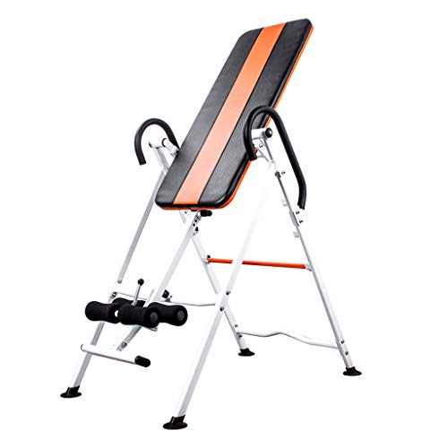Find Bargain Full 90 Inversion Equipment Heavy Duty Inversion Table Fitness Equipment Relief of Back...