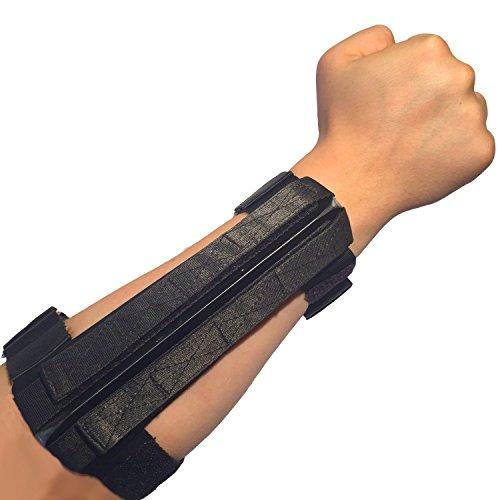Active Protection Gear® Security Unterarmschützer massiv mit Harter Kante zur Selbstverteidigung