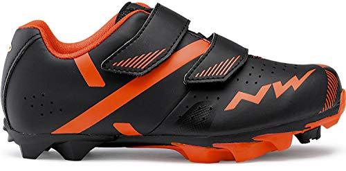 Northwave Hammer 2 Junior Kinder MTB Fahrrad Schuhe schwarz/rot 2020: Größe: 32