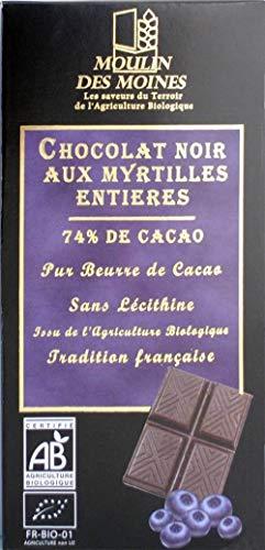 CHOCOLAT NOIR AUX MYRTILLE