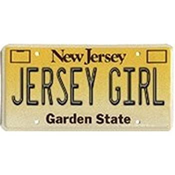 Express Design Group Jersey Girl License Plate Cover