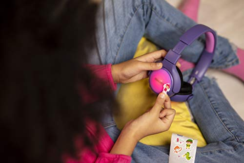 Philips Kinderkopfhörer KH402PK/00 Wireless On Ear Kopfhörer (Bluetooth, 85 db, 20 Stunden Spielzeit, LED Panel, weiche Ohrpolster) Pink