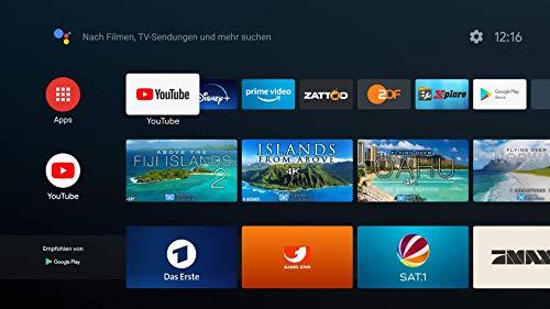 Android TV Box HIMEDIA S500 4K (Ultra-HD) HDR10 | Mini PC (Quadcore-CPU, HDMI 2.0b, Dualband WLAN-ac, Bluetooth 4.2)