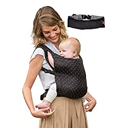 Infantino Zip Travel Carrier (Black),Infantino,5308,Carrier,baby carrier