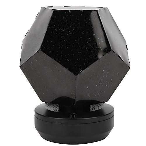 Crisist Proiettore Stella, USB Star Night Light 3W colorato per Regalo di Anniversario per Festa di Compleanno per cameretta per Regalo di Natale per Matrimonio