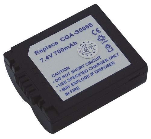Panasonic ACCUMULATEUR LI-ION 700 MAH 7.4 V pour TV Audio TELEPHONIE 8336594