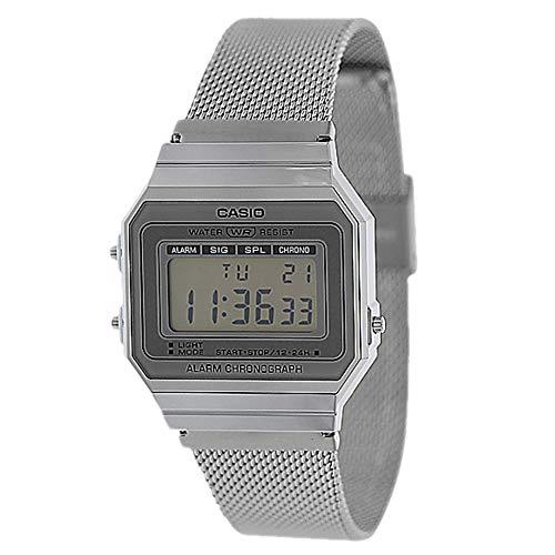Casio Men's A700WM-7AVT Digital Vintage Collection Watch Silver