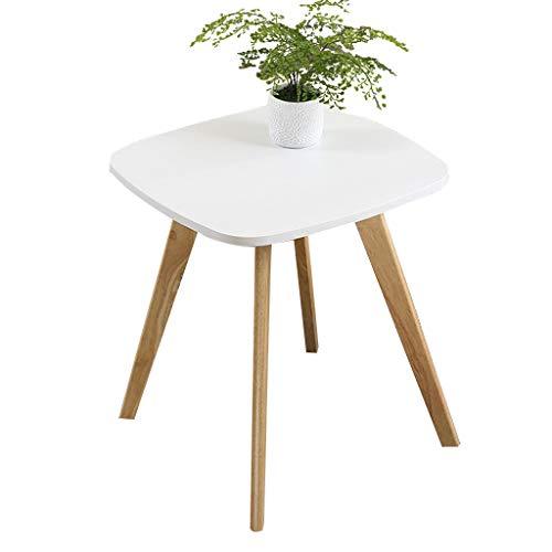 Petite table carrée, Creative intérieur salle de séjour loisir lecture table sofa coin table table basse petite table de thé Multifunctio Téléphone Table pour enfants décoration meubles,A,55*45CM
