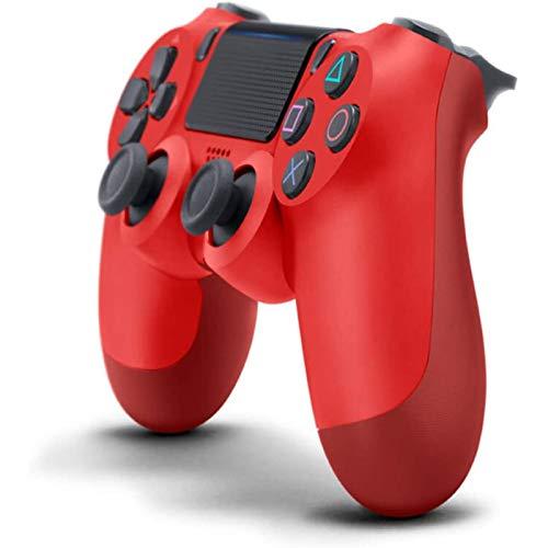 4PCS PS4 Controller Der Vie RTE Generation Ps4-Controller Drahtloser Bluetooth Spiel-Controller VerfüGt üBer Led-Beleuchtung Und Vibration Funktionenps4 Game Console-ZubehöR (rot)