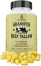 Ancestral Supplements Grass Fed Tallow Capsules — Based On The Native Wisdom of Our Early Ancestors, Tallow Provides The S...