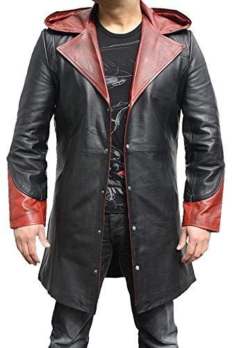 EU Fashions DMC Devil May Cry 4 Dante Cosplay Kostüm Mantel Gr. XX-Small, Dmc Dante 4 Coat - Kunstleder