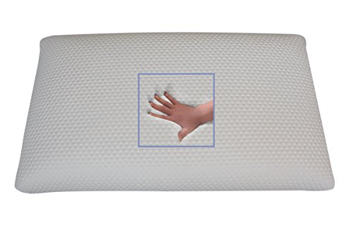 NEUHEIT komplett waschbares Gel/Gelschaum Kopfkissen/Nackenkissen/Nackenstützkissen 80 x 40 cm softes/weiches Kissen waschbar (80 x 40 x 12 cm)