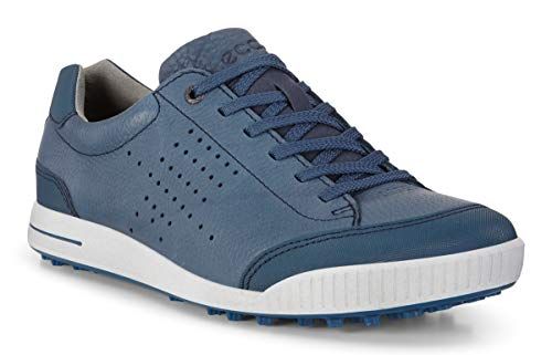ECCO Herren Men's Golf Street Golfschuhe, Blau Denim Blue 50963, 41 EU