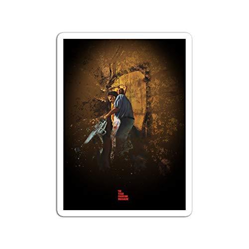 KoutYukshop Sticker Motion Picture The Texas Chainsaw Massacre Splatter Movies Video Film (3