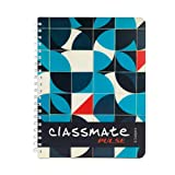 Classmate Premium 6 Subject Spiral Notebook - 203mm x 267mm, Soft Cover, 300