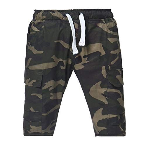 Find Discount Men's Sport Fashion Camouflage Shorts,Fxbar Drawstring Casual Loose Sweatpants (Camo...