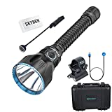 OLIGHT Javelot Pro 2100 Lumes NW LED Dual Switches Rechargeable Rifle Tactical Flashlight with Built-in Battery Pack,Remote Switch and Flashlight Mount(Black)