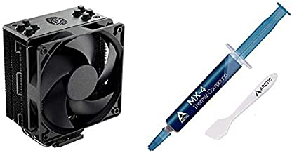 Cooler Master Hyper 212 Black Edition CPU Air Coolor & Arctic MX-4 - Thermal Compound Paste for Coolers - 4 Grams