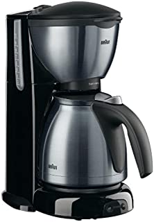 Braun KF610 10 Cup Coffee Maker (Overseas USE ONLY) 220 VOLTS