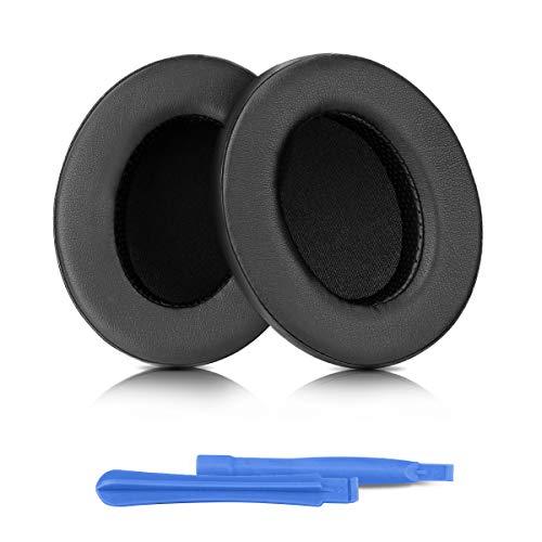 ELZO Cuscinetti auricolari di ricambio per Audio Technica ATH-M50XBT ATH-M50X M40X M30X M20X M10X ATH-ANC9, cuscinetti auricolari professionali/cuscinetti auricolari/padiglioni auricolari