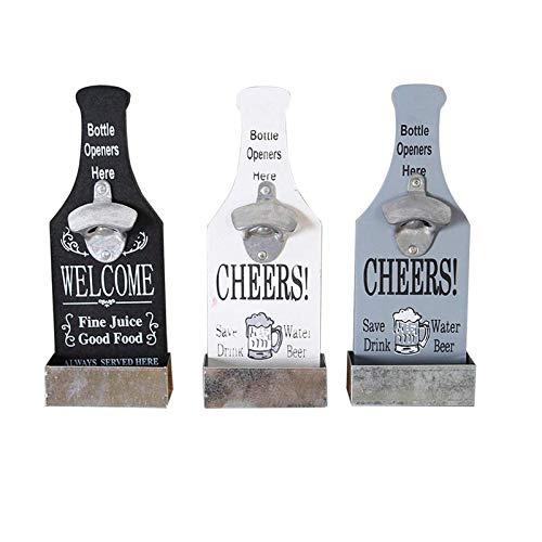 Abridor de botellas de cerveza, decoración de pared, cafetería, bar, restaurante, hogar, accesorios para cocina, restaurante