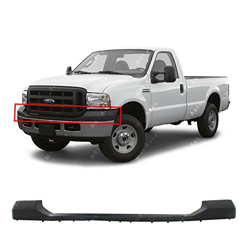 Header Panel Compatible with Ford F-Series Super Duty 05-07 Grille Opening Panel Reinforcement ABS Plastic