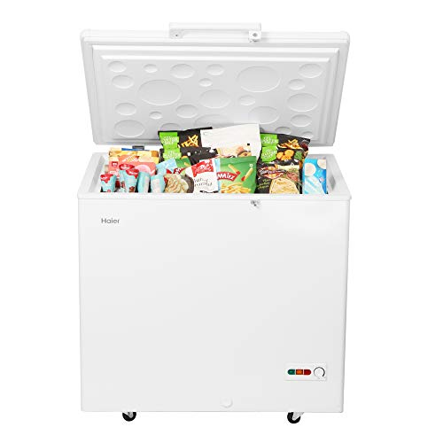 Haier Single Door Hard Top HCC 230HC Deep Freezer, 198 liters, White, Convertible