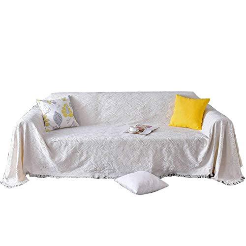Jonist Funda de sofá Jacquard, Funda de poliéster para sofá, Funda Protectora Universal para Muebles para decoración de Sala de estar-D-71x107