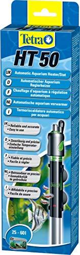 Tetra HT 50 - Potente calentador de acuario para cubrir diferentes niveles de potencia con el mando de ajuste de temperatura