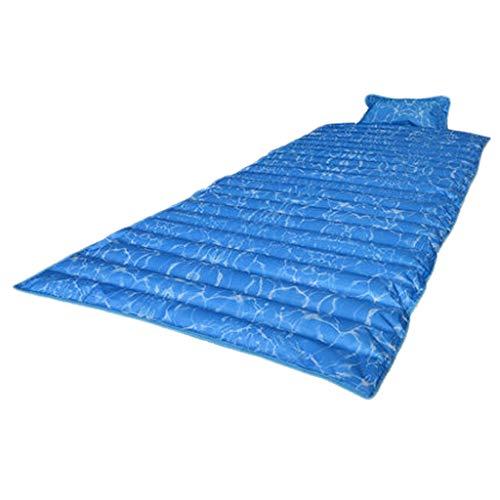 Colchón colchón de Hielo colchón de Hielo Individual Doble Dormitorio Dormitorio Estera de Verano enfriamiento de Agua Almohadilla de Agua colchón de Agua Artefacto (Color : A, Size : 190 * 75cm-10m)