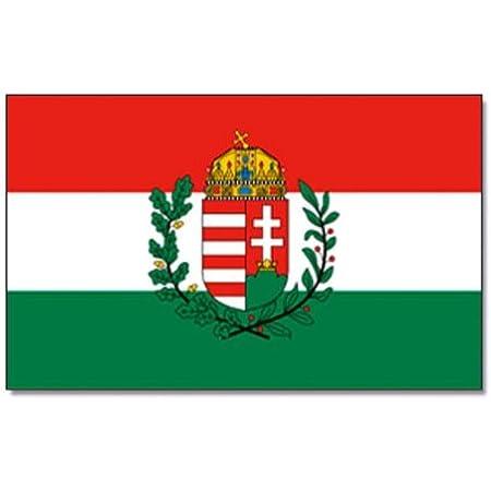 gratis Sticker 60 x 90 cm Flaggenfritze/® Flagge Ungarn ungarische Flagge hissfertig mit /Ösen