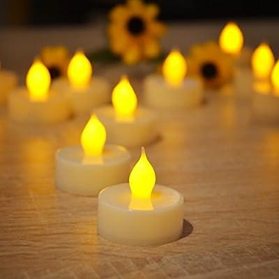 Flameless Tea Light Candles