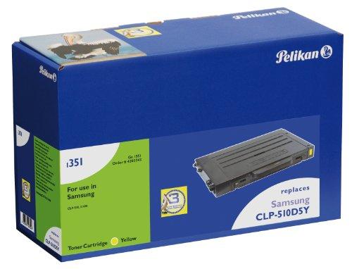 Preisvergleich Produktbild Pelikan Toner ersetzt Samsung CLP-510D5Y (passend für Drucker Samsung CLP-510)